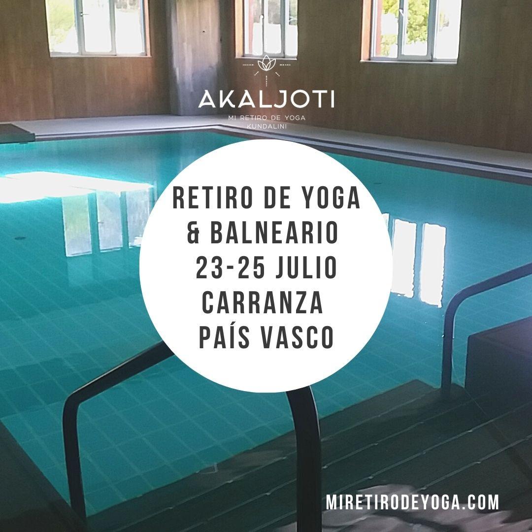 Retiro de yoga en un balneario - País Vasco