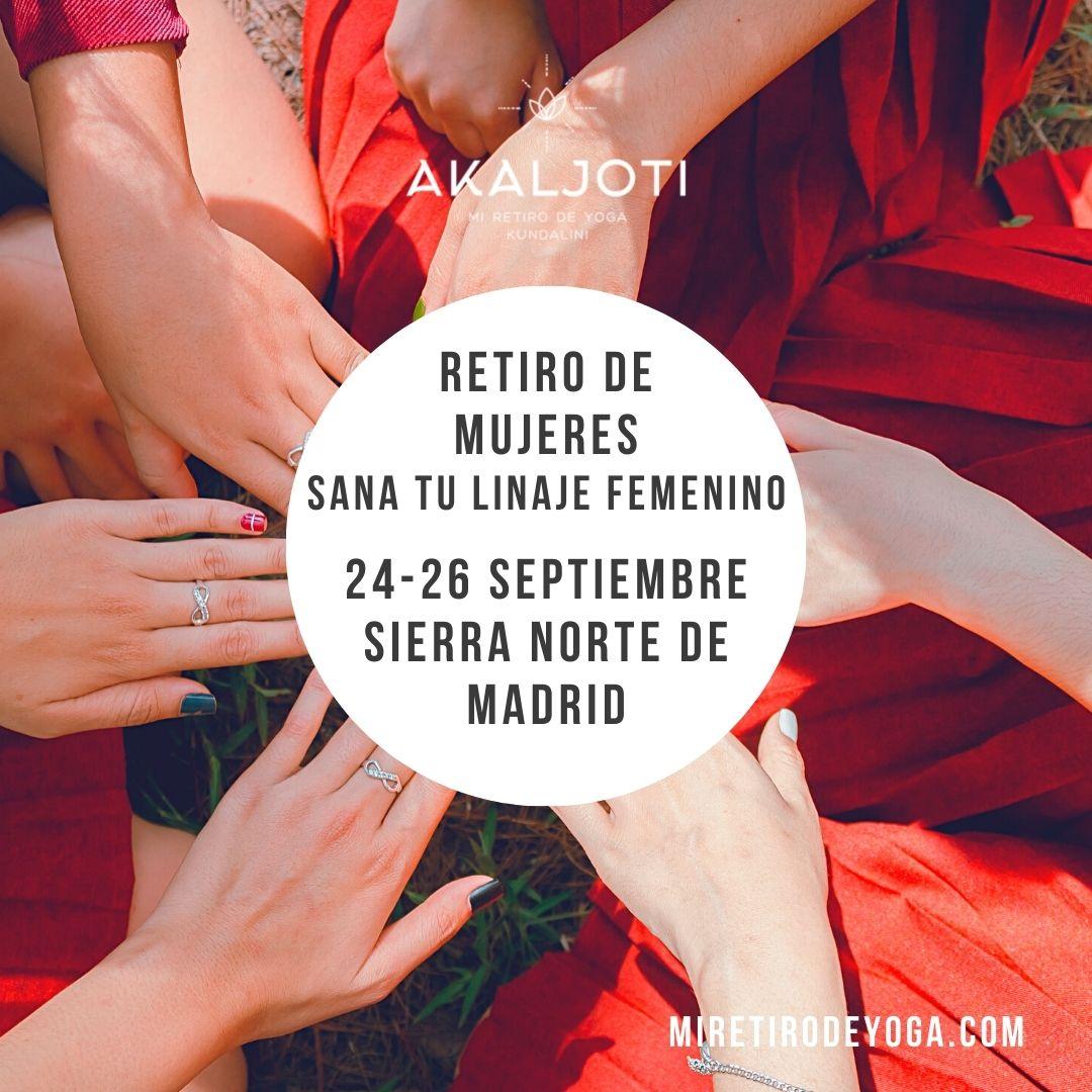 Retiro de yoga en otoño - Sierra Norte de Madrid