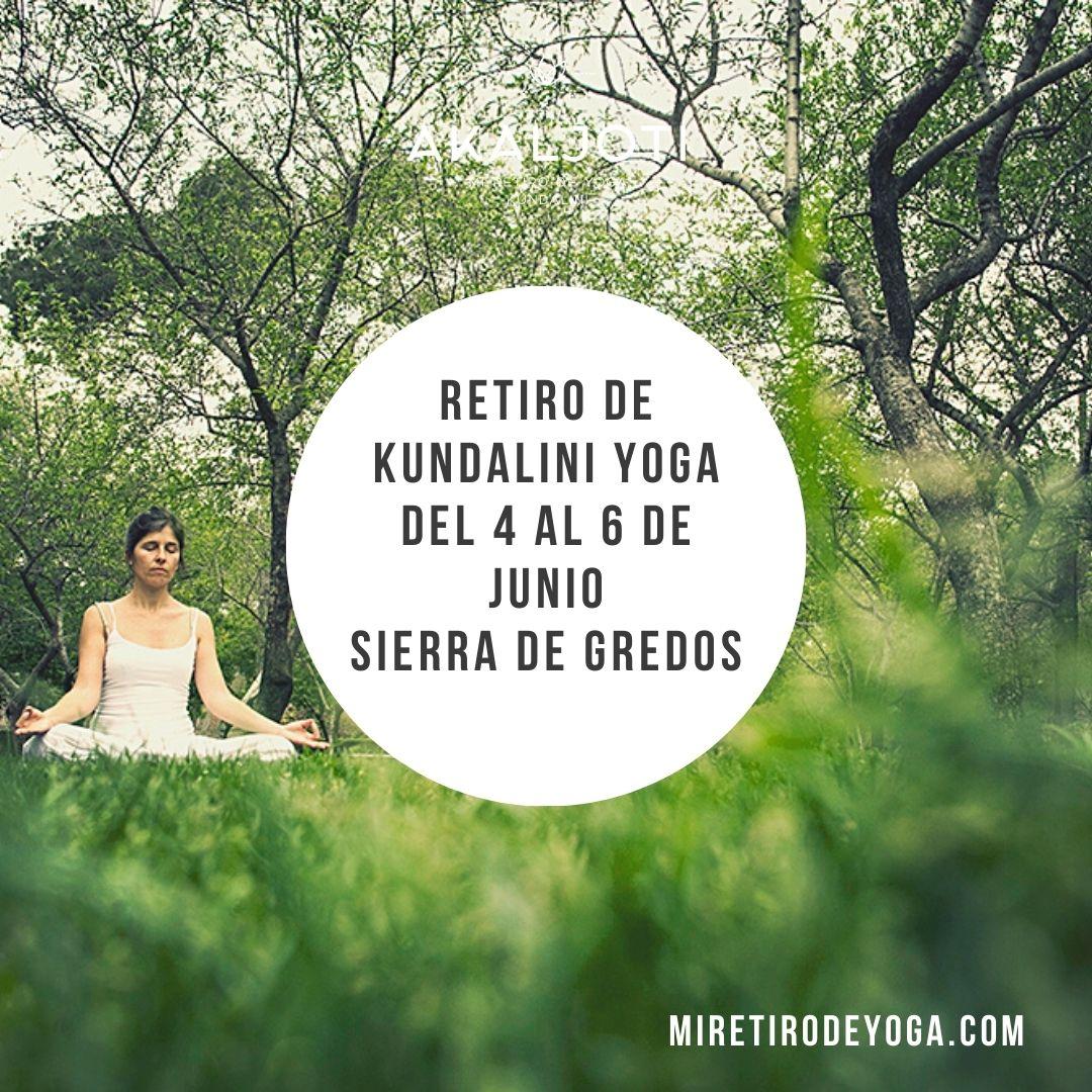 Retiro de Kundalini Yoga en la Sierra de Gredos