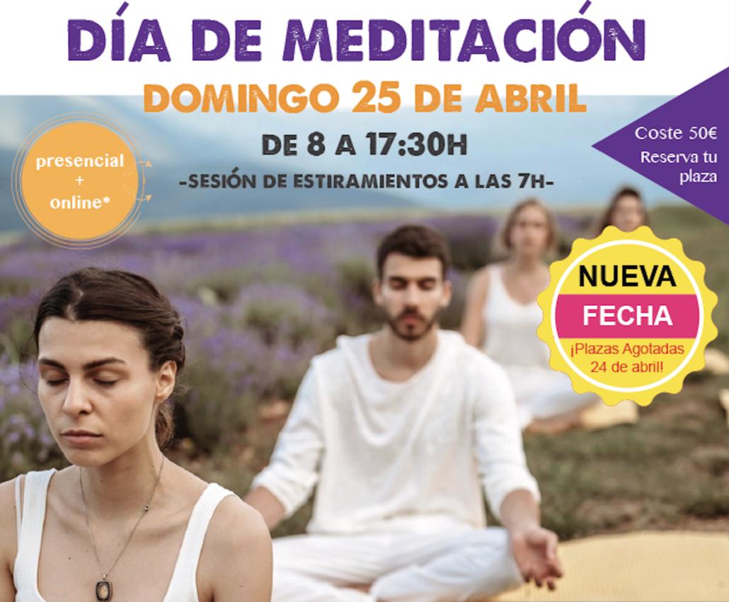 Día de Meditación 25 de abril  2021