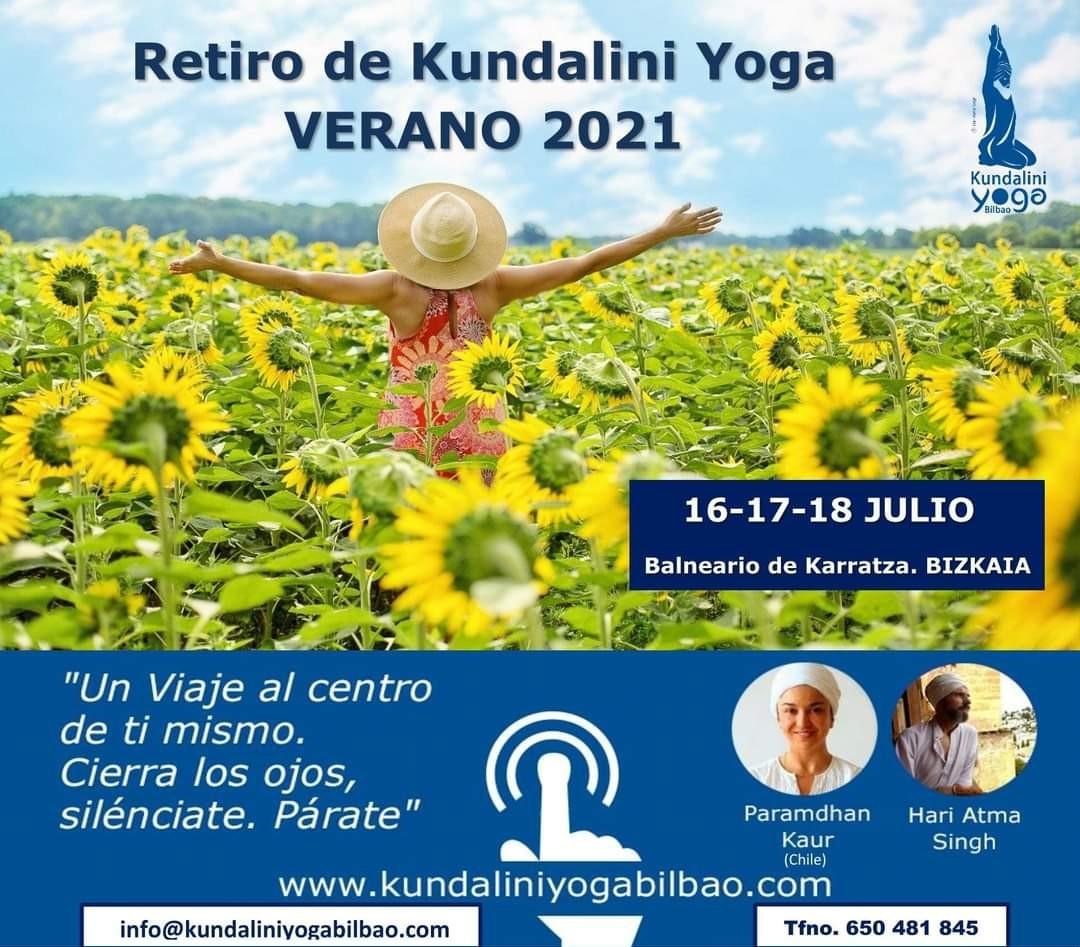 Retiro de Kundalini Yoga VERANO 2021 - Balneario de Karrantza. Bizkaia