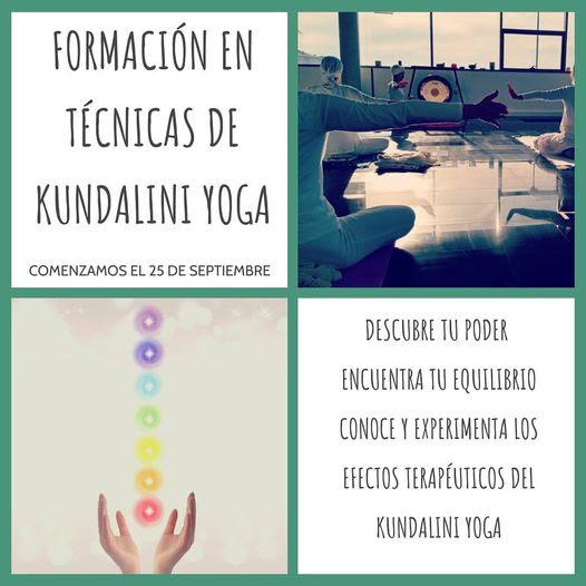 """Curso """"Tecnicas de Kundalini Yoga"""" - presencial y online"""