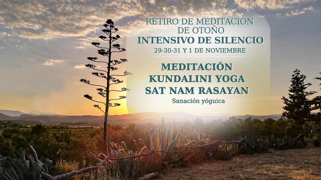 Retiro de Meditación de Otoño, Intensivo de Silencio